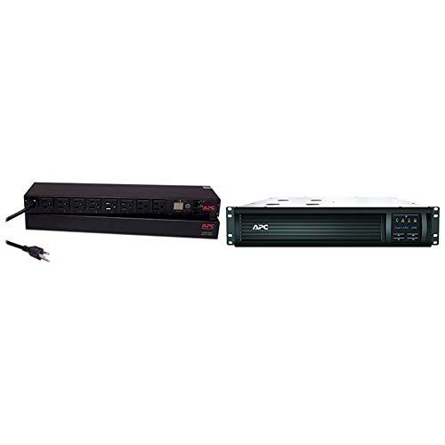 APC Rack Mount PDU, Switched Rack 120V/15A & 1500VA Smart UPS with...