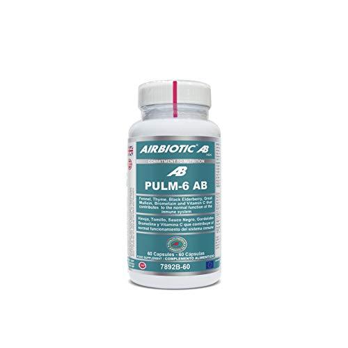 Airbiotic Pulm 6 Ab 60Cap Airbiotics 300 g