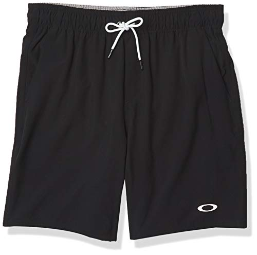 Oakley Herren New ACE Volley 2.0 18 Badehose, Blackout, X-Large