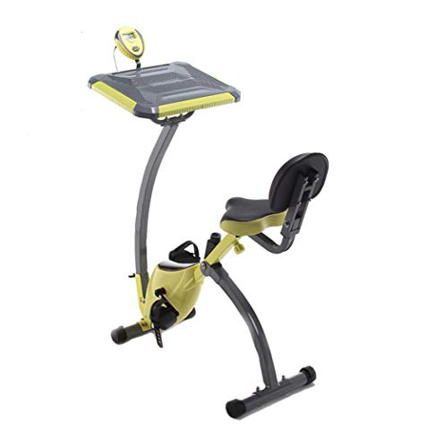 Best Prices! Folding Fitness Exercise Bike, Fitness Cardio Workout Weight Loss Machine Tablet Holder and LCD Display Home Fitness Cycling Magnetic Control