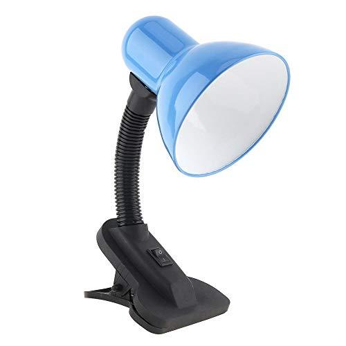 QXinjinxtd Lámparas para habitaciones Clip flexible portable del escritorio del LED Luz Lámpara de tabla ancha bulbo Voltaje Soporte de cabecera E27 Manual de Estudio de Lectura Accesorios de dormitor