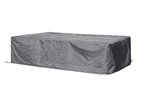 Perel Garden OCLS-L beschermhoes voor lounge-set - L, zwart, 300 x 300 x 75 cm