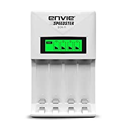 ENVIE Charger for AA & AAA Rechargeable Batteries (ECR 11 Fast Charger),IMS Mercantiles Pvt. Ltd.,ECR 11 Speedster