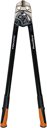 Fiskars Coupe-boulons, Jusqu'à 30% de puissance en plus, Longueur 91 cm, Acier/Plastique, Noir/Orange, PowerGear, 1027216