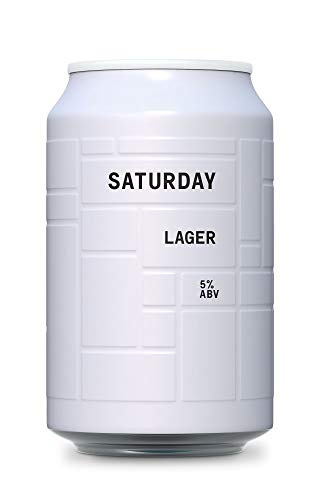 AND UNION Craft Beer - SATURDAY Lager - 24 x 330ml Dosen - inkl. 6,00€ Pfand