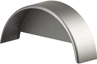 Tie Down Engineering Standard 44916 Fender with Skirt Single Round Silver Steel Fits 13