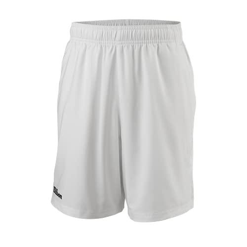 Wilson B Team Ii 7 Shorts, Unisex, für Kinder, Unisex Kinder, Kurze Hose, WRA796501SM, weiß, 8 años