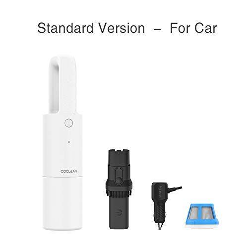 Lowest Prices! Small cute pretty Portable Car Handheld Vacuum Cleaner for home Wireless Mini Dust Ca...