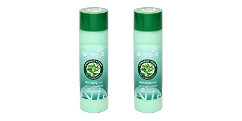 2 x Biotique Bio Margosa Anti-Dandruff Shampoo & Conditioner - 190 ml by Biotique