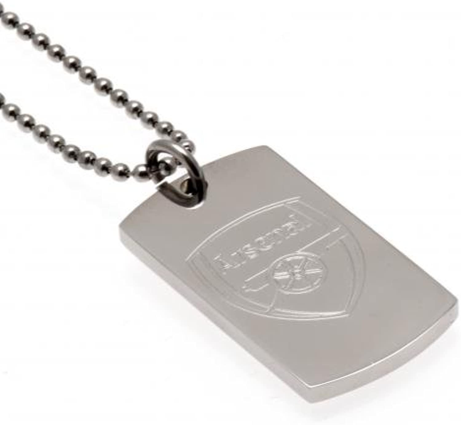 Engraved Crest Dog Tag & Chain  Arsenal F.C