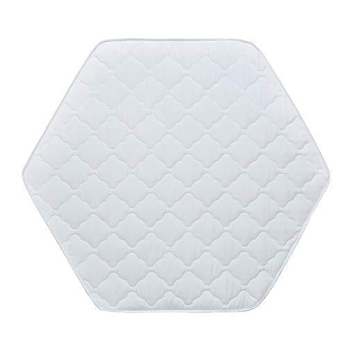Baby Delux Matratze für Laufgitter Laufstall 6-eck weiß 120 cm