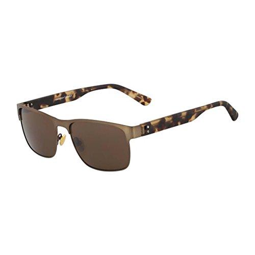 Calvin Klein zonnebrillen Ck7378S 213-58-17-145 brilmontuur, bruin, 58 unisex volwassenen, Ck7378S