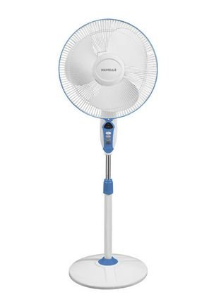 Havells Sprint LED 400mm Pedestal Fan (Blue)