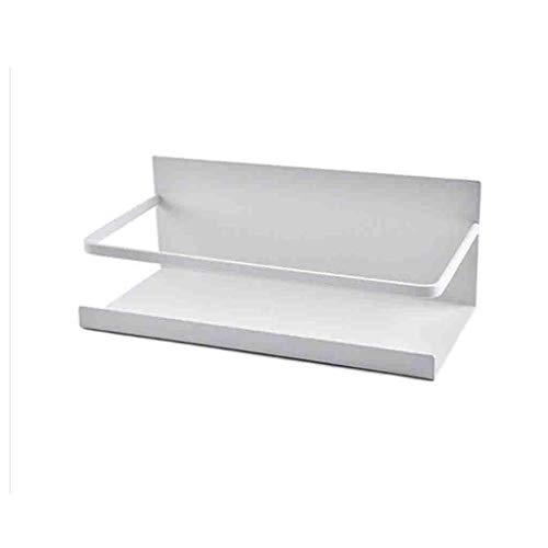 Rejilla lateral para frigorífico, Refrigerador Organizador Magnético Rack, Rack de almacenamiento magnético, Rack de especias Ideal para cocina, refrigerador, Bancos de trabajo, Herramientas de especi