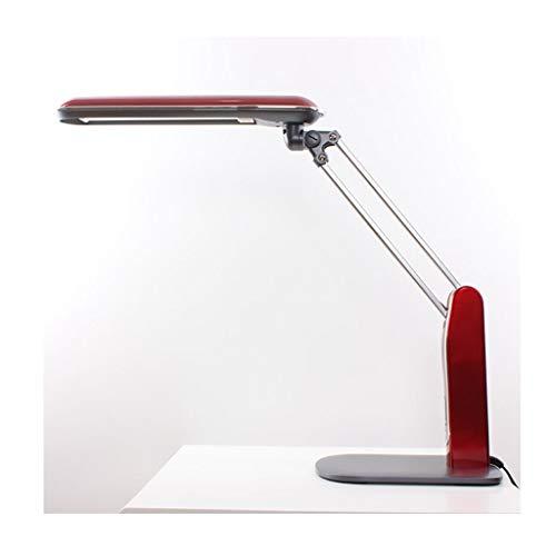 Lampe de bureau Office Eye Caring LED Étude Lampes de lecture Réglable Travail pour adultes Designs simples Lampes de table Rouge