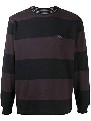Stussy Luxury Fashion Uomo 1140219MULTI Nero Cotone Felpa | Autunno-Inverno 20