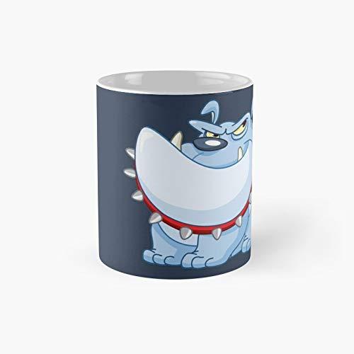 Taza clásica de Bulldog   El mejor regalo divertidas tazas de café de 325 ml