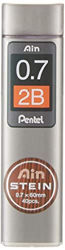 Pentel C277-2BO AIN STEIN Feinmine, 0.7 mm, Härtegrad 2B oder 40 Minen
