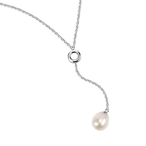 Morellato Collana da donna, Collezione Oriente, in acciaio, perla naturale - SARI09