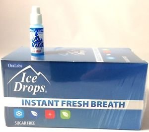 Oralabs Ice Drops Instant Fresh Breath Spear Mint Whole Box of 50