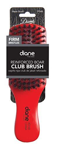 Diane Club Brush Reinforced Boar Bristles (Colors may vary)