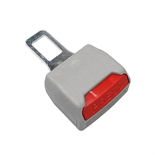 WSNDY 1 Unids Cinturón De Seguridad Universal Asiento De Seguridad Clip Extensor De Seguridad Cinturón De Seguridad Cinturón De Seguridad con Hebilla Enchufe Grueso Inserto (Color Name : 1PC Grey)