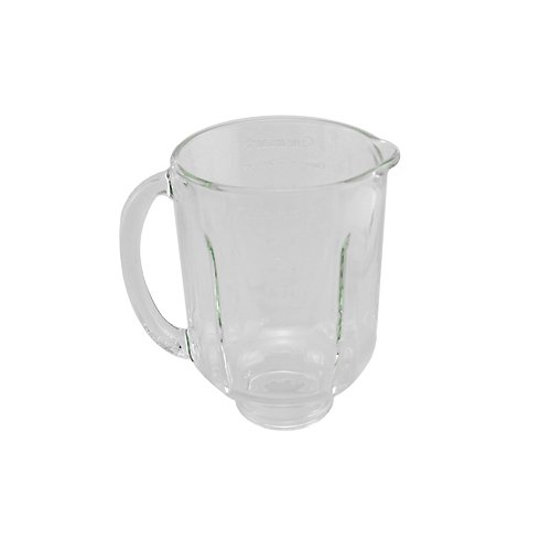 Cuisinart SPB-600JAR Glass Blending Jar (If your old jar is square, you need new round lid and fille