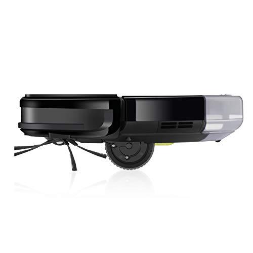 ZACO A8s Saugroboter mit Wischfunktion, App & Alexa Steuerung, 7,2cm flach, automatischer Staubsauger Roboter, 2in1 Wischen oder Staubsaugen, für Hartböden, Fallschutz, mit Ladestation - 12