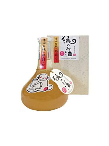 板野酒造本店 猿のお酒 清水白桃+桃太郎トマト 10度 300ml