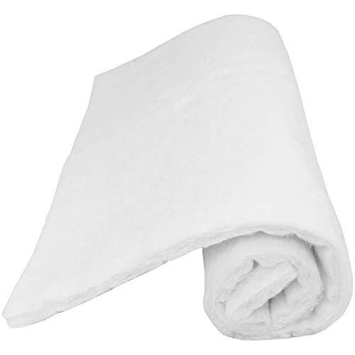 Volumenvlies zum Basteln und Nähen - Vlieswatte - Matten - Polsterwatte 600 g/m² in den Größen 60x80cm in der Farbe: Weiß