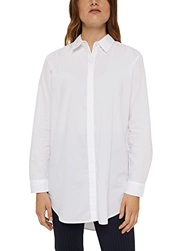 ESPRIT Long-Bluse aus 100% Organic Cotton