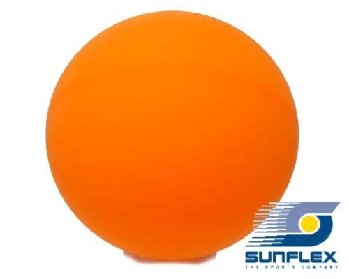 Sunflex 5 x Tischtennisball Orange, Bier-Bong Ball, Bastel Ball Tischtennis Jumbo