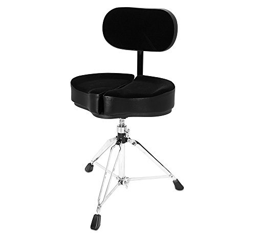 Ahead ASPG-BBR Spinal G Saddle Drum Throne with Backrest,...