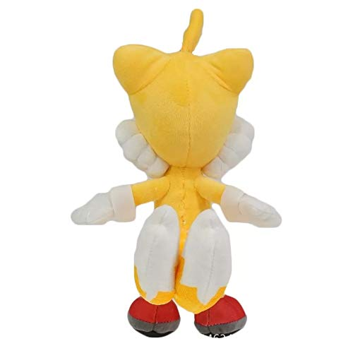 Lshuqing 11in Amy Rose Plush Figure Toys S The Hedgehog Anime Figures Soft Stuffed Doll 3+ Kids Birthday (Yellow)
