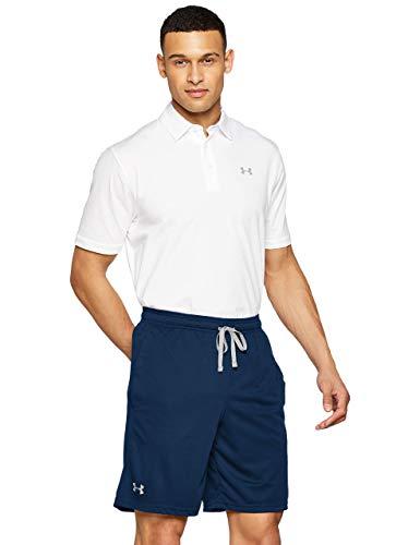 Under Armour UA Tech Mesh Short, Pantaloni Corti Uomo, Blu (Academy/Steel 408), L