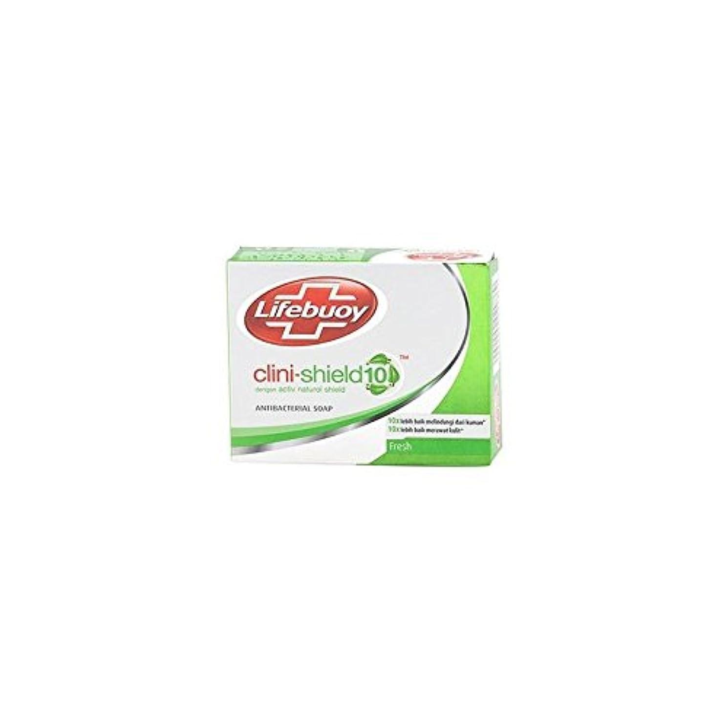統計的保安定規Unilever Indonesia lifebouy石鹸cliniシールド-10フレッシュ、70グラム