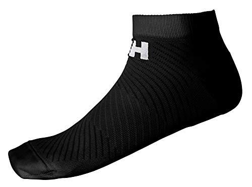 Helly-Hansen LIFA Active 2-Pack Sport Sock, 990 Black/Black, Size 39-41
