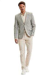 DeFacto Basic Side Pocket Regular-Fit Pants for Men