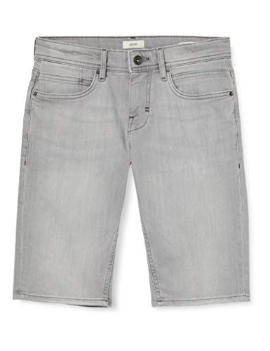 ESPRIT Herren 040EE2C316 Shorts, 923/GREY Light WASH, 34