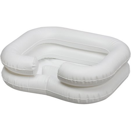 Deluxe Inflatable Shampoo Basin for Elderly and Disabled