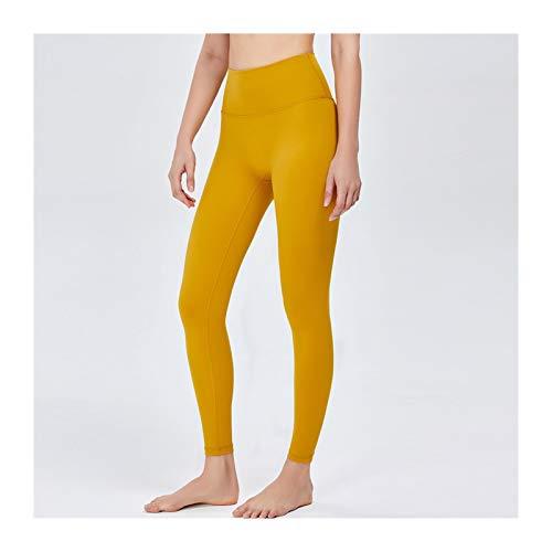 Pantalones de yoga inconsútil de la cintura alta de las mujeres Pantalones de yoga sin fisuras para las medias de la aptitud Mujeres Pantalones deportivos Gimnasio Running Leggings Enterrout Ropa depo