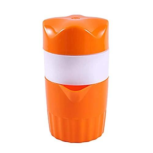 Exprimidor de mano, exprimidor manual de limón con tapa de colador, material ABS de grado...