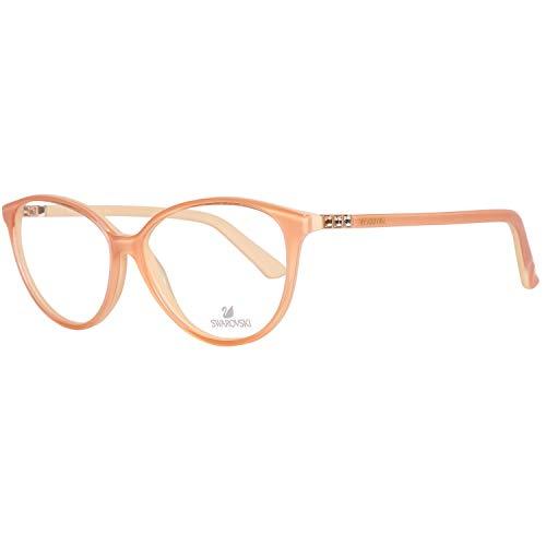 Swarovski Brille Damen Orange Lese-Brillen Brillen-Gestell Brillen-Fassung