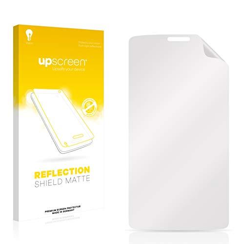 upscreen Entspiegelungs-Schutzfolie kompatibel mit LG G3 A (Korea) – Anti-Reflex Bildschirmschutz-Folie Matt