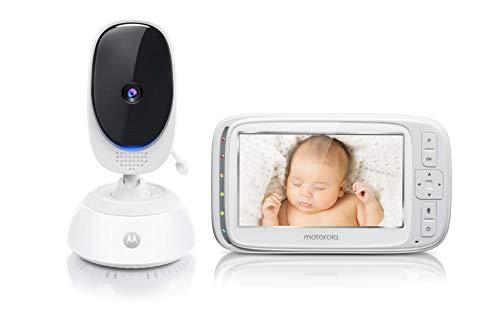 """Motorola Baby Comfort C75 - Vigilabebés vídeo con pantalla LCD a color de 5.0"""""""