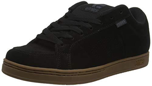 Etnies Kingpin, Zapatos de Skate Hombre, Negro/Gris Oscuro/Goma, 43 EU