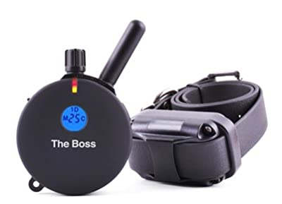 Educator The Boss E-Collar 1 Mile Big Dog Remote Trainer + Free Included Bungee E-Collars