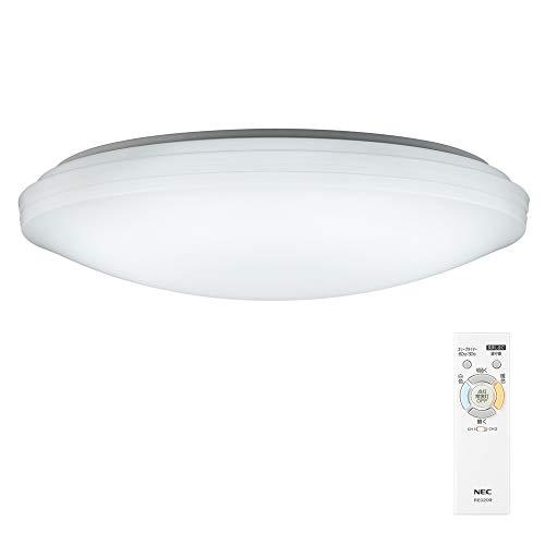 NEC LEDシーリングライト 調色/調光タイプ~8畳 HLDC08208