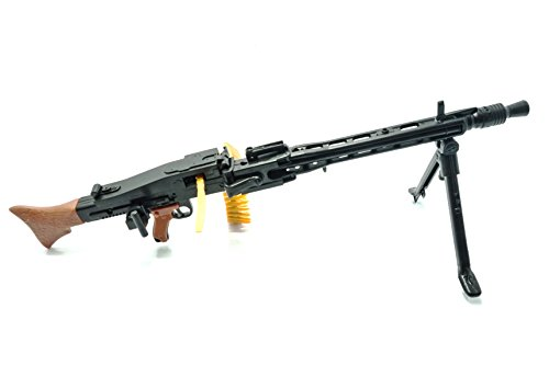 4D 1/6 Scale MG42 General Purpose Machine Gun WWII Germany Army Fit for 12' Action Figure (Mini Toy Gun 8' Long)