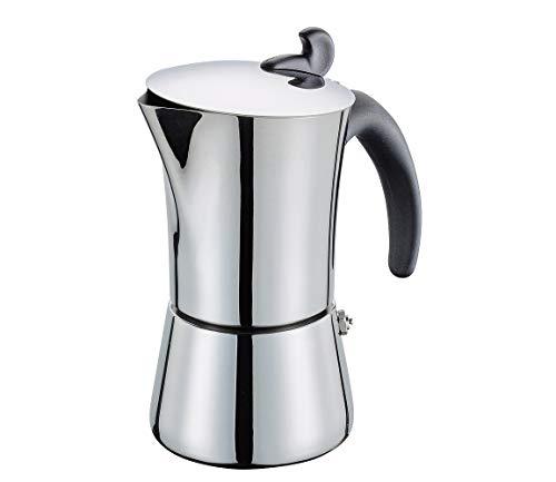 Cilio 202618 Giovanna Espressokocher, Edelstahl, 6 Tassen